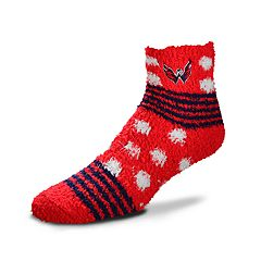 Women's For Bare Feet For Bare Feet Washington Capitals Plush Ankle Socks