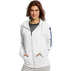 Women's Champion Fleece Graphic Zip-Up Hoodie