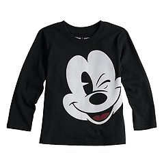 Disney's Mickey Mouse Toddler Boy Long Sleeve Graphic Softest Tee by Jumping Beans®