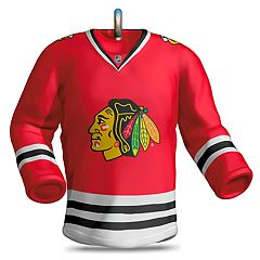 NHL Chicago Blackhawks Jersey 2018 Hallmark Keepsake Christmas Ornament