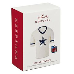 NFL Dallas Cowboys Jersey 2018 Hallmark Keepsake Christmas Ornament