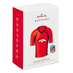 NFL Denver Broncos Jersey 2018 Hallmark Keepsake Christmas Ornament
