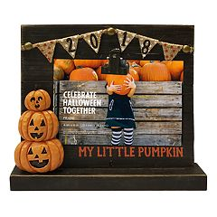 Celebrate Halloween Together 'Pumpkin' Photo Clip 4' x 6' Frame