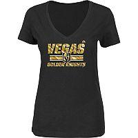 Women's Majestic Vegas Golden Knights Long Change Tee
