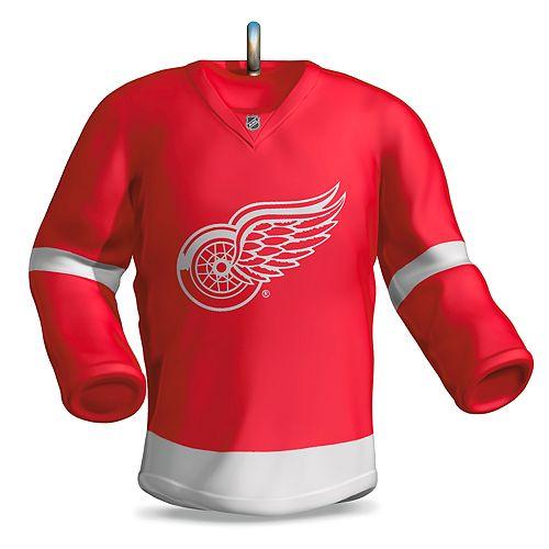 timeless design 7a84b 7cde2 NHL Detroit Red Wings Jersey 2018 Hallmark Keepsake ...