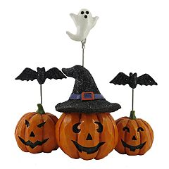 Celebrate Halloween Together Witch Pumpkin Photo Clip