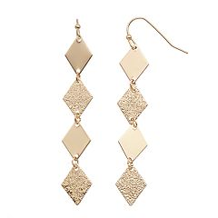 LC Lauren Conrad Kite Nickel Free Drop Earrings