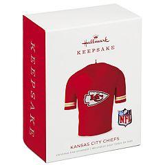 NFL Kansas City Chiefs Jersey 2018 Hallmark Keepsake Christmas Ornament