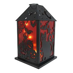 Celebrate Halloween Together Light-Up Lantern Table Decor