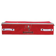 Franklin Sports Tampa Bay Buccaneers Small Under-the-Bed Storage Bin