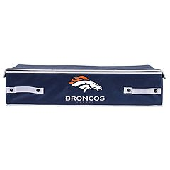 Franklin Sports Denver Broncos Small Under-the-Bed Storage Bin