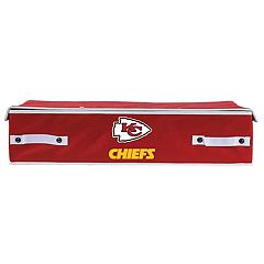 Franklin Sports Kansas City Chiefs Small Under-the-Bed Storage Bin