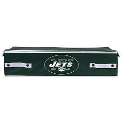 Franklin Sports New York Jets Small Under-the-Bed Storage Bin