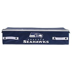 Franklin Sports Seattle Seahawks Small Under-the-Bed Storage Bin