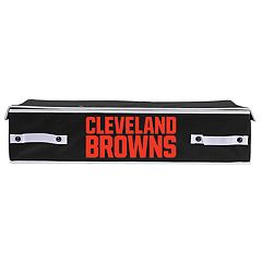 Franklin Sports Cleveland Browns Small Under-the-Bed Storage Bin