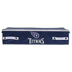 Franklin Sports Tennessee Titans Small Under-the-Bed Storage Bin