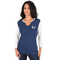 Women's Majestic Tampa Bay Lightning Glowing Tee