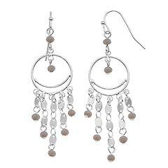 LC Lauren Conrad Nickel Free Dream Catcher Drop Earrings