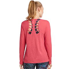 Women's Jockey Sport Framework Cutout Back Tee