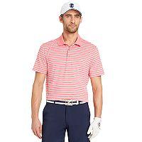 Men's IZOD SwingFlex Classic-Fit Striped Stretch Performance Golf Polo