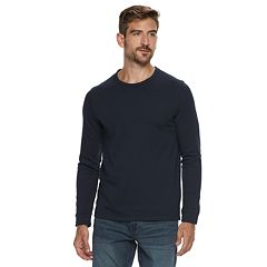 Men's Marc Anthony Slim-Fit Knit Terry Crewneck Tee