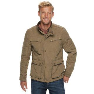 Men's Urban Republic Microfiber 4-Pocket Safari Jacket