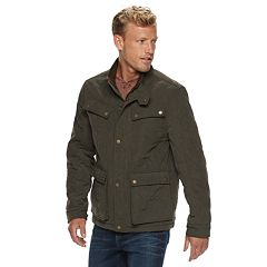 Men's Urban Republic Microfiber 4-Pocket Safari Jacket