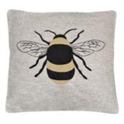 Spencer Home Decor Bumble Bee Throw Pillow