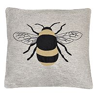 Spencer Home Decor Bumble Bee Throw Pillow