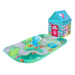 Fun2Give Pop-it-up Enchanted Forest Play Box with Play Mat & Coloring Set
