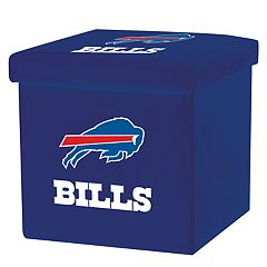 Franklin Sports Buffalo Bills Storage Ottoman with Detachable Lid