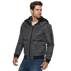 Men's Urban Republic Ballistic Hooded Bomber Jacket