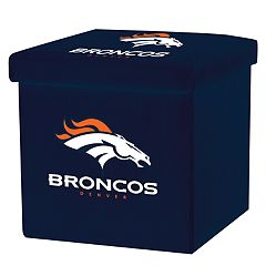 Franklin Sports Denver Broncos Storage Ottoman with Detachable Lid