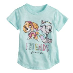 """Baby Girl Jumping Beans® Paw Patrol Skye & Everest """"Friends"""" Graphic Tee"""