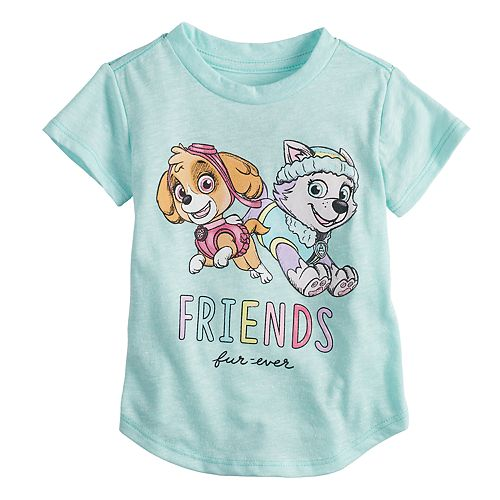 "Baby Girl Jumping Beans® Paw Patrol Skye & Everest ""Friends"" Graphic Tee"