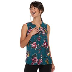 Women's Apt. 9® Pleated Georgette Tank