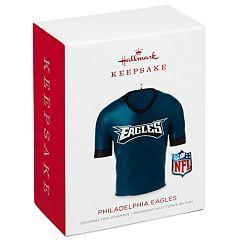 NFL Philadelphia Eagles Jersey 2018 Hallmark Keepsake Christmas Ornament