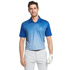 Men's IZOD SwingFlex Classic-Fit Feeder-Striped Stretch Performance Golf Polo