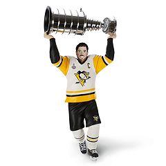 NHL Pittsburgh Penguins Stanley Cup MVP Sidney Crosby 2018 Hallmark Keepsake Christmas Ornament