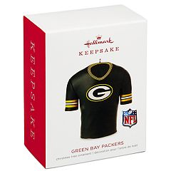 NFL Green Bay Packers Jersey 2018 Hallmark Keepsake Christmas Ornament