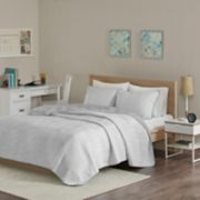 Intelligent Design Lizzie Cotton Blend Jersey Quilt Set