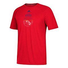 Men's adidas Real Madrid CF Redirection Logo Tee