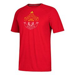 Men's adidas Manchester United Redirection Logo Tee