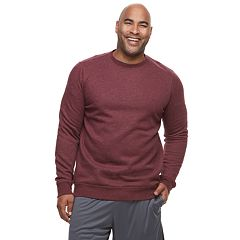 Big & Tall Tek Gear® Regular-Fit Ultrasoft Fleece Crewneck Tee