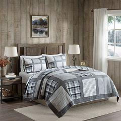Woolrich Huntington 3-piece Reversible Oversized Cotton Quilt Set