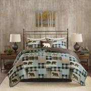 Woolrich Twin Falls Oversized 4-piece Quilt Set