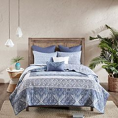 Urban Habitat Aria 7-piece Reversible Cotton Coverlet Set