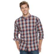 Big & Tall SONOMA Goods for Life? Flexwear Poplin Button-Down Shirt