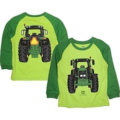 Boys 4-7 John Deere Tractor Raglan Graphic Tee