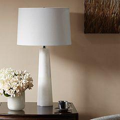 Madison Park Signature Calla Alabaster Table Lamp